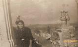 Arriba de la Iglesia con vista hacia la calle Ramón Corona