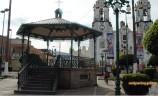 Kiosco de la Plaza Principal de San Ignacio