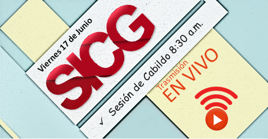 Sesiones de Cabildo en vivo