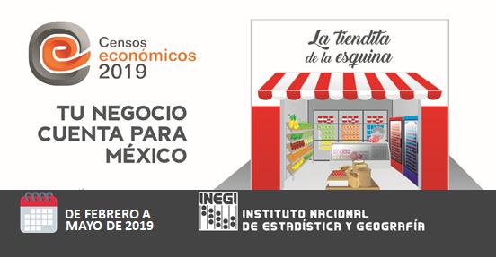 INEGI Censos económicos 2019
